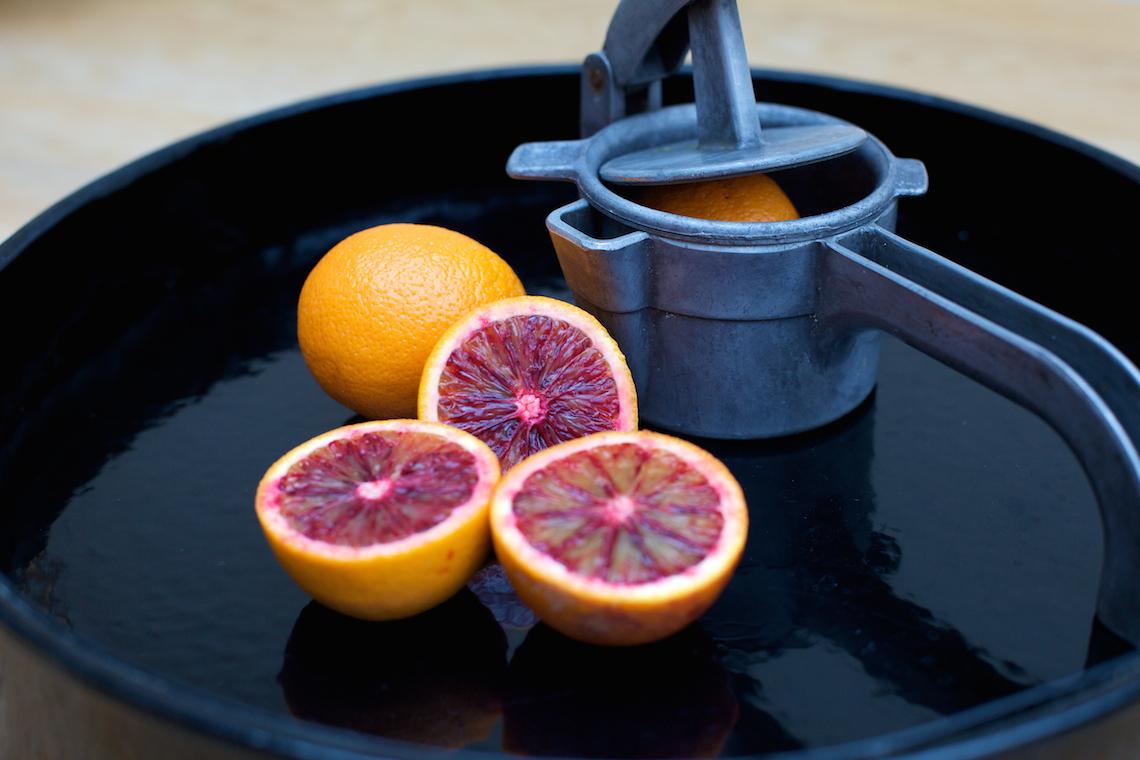 Blood Red Oranges