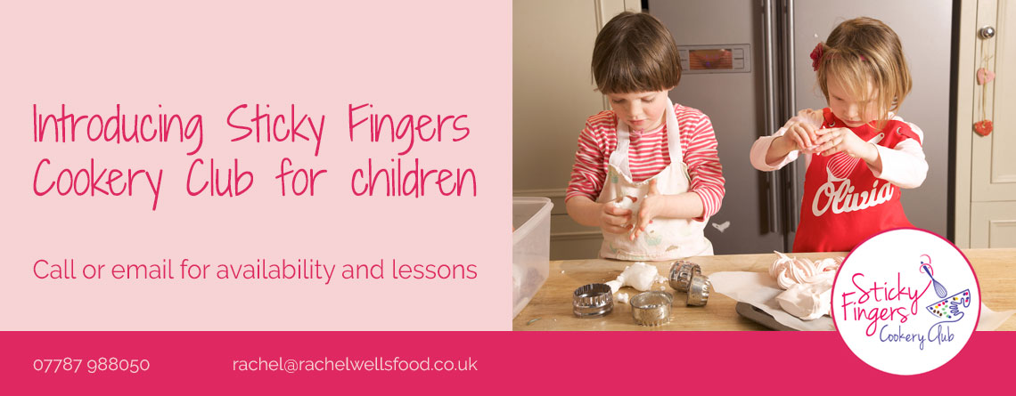 sticky fingers cookery classes