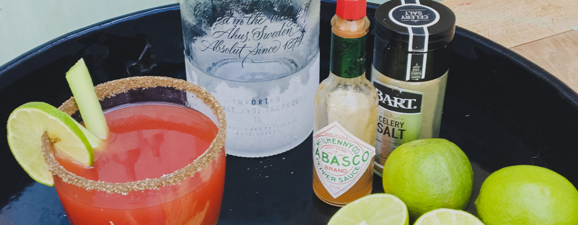 How to make a caesar cocktail on Rachel Wells Food