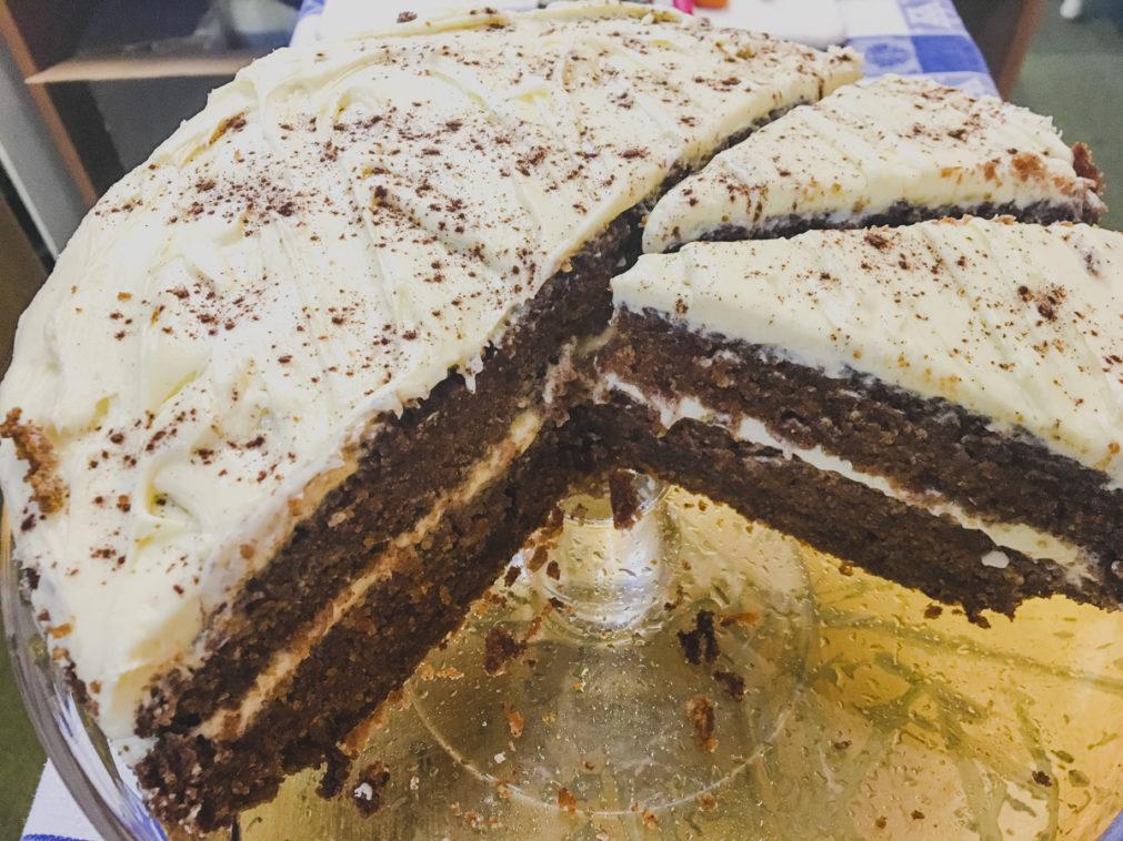 Gluten Free Carrot Cake on Rachel Wells Food